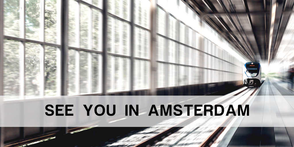 see you in Amsterdam